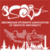 Indonesian Student Association of Griffith University's logo