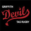 Griffith Devils TAG Rugby Club's logo