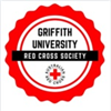 Griffith University Red Cross Society's logo