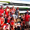 Griffith University Rowing's logo