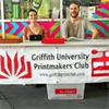 Griffith University Printmakers Club's logo