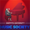 Griffith University Music Society's logo