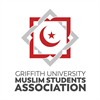 Griffith University Muslim Students Association's logo