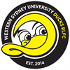 Western Sydney University Ducks Rugby League Football Club's logo